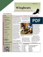 MARS May 2013 Wingbeats Newsletter