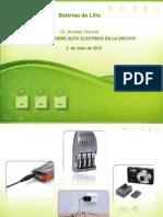 UNCUYO Baterias Li 2012mendoza