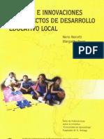 Alianzas e Innovasiones en Proyectos de Desarrollo Educativo Local