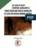 TTB Biber Gazı Raporu