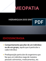 HOMEOPATIA - HIERARQUIA DOS SINTOMAS.ppt