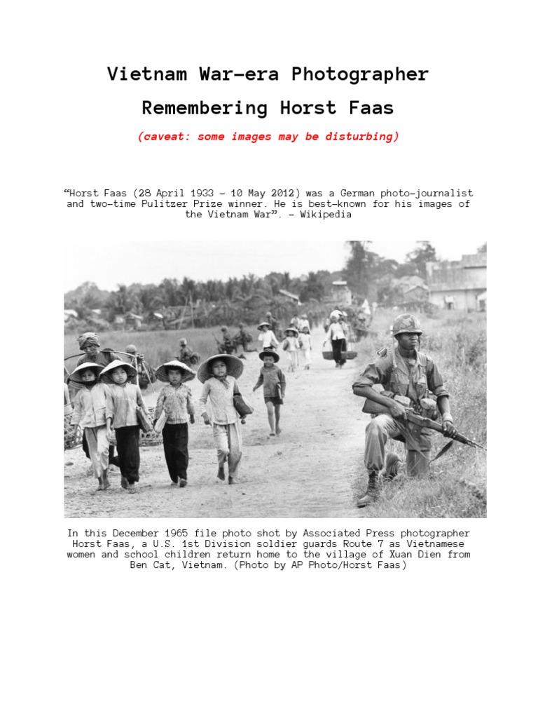 101032464 Vietnam War Era Photographer | Vietnam War (16 views)