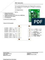Wiegand to Rs232 Converter