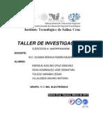Ejercicios Para Resolver Del Equipo 4 Tema Justificacion Del Proyecto 1
