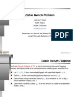 Cable Trench Problem