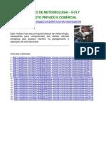 Curso de Meteoriologia Pp e Pc - e Fly
