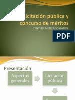 Presentacion Licitación y Concurso de méritos