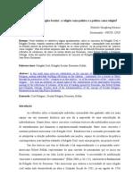 Religião Civil e Religião Secular – A Religião Como Política e a Política Como Religião — Heiberle Hirsgberg Horácio.doc