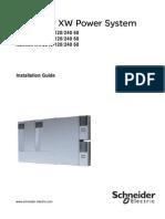 Conext XW Installation Guide
