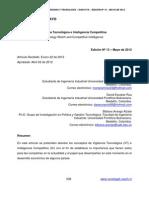 Vigilancia tecnológica y la Inteligencia competitiva  UPB