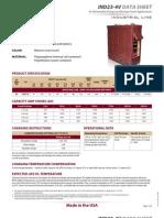 IND23-4V TrojanRE Data Sheets
