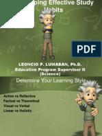 Developing Effective Study Habits