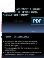 Inhalation Trauma, Burn 2012