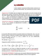 Tema 1.5. Variables Separables y Reducibles