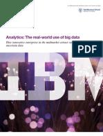 IBM Big Data Analytics Study 2013 - Annotated