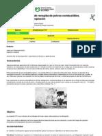 NTP 029 - Instalaciones de recogida de polvos combustibles. Control del riesgo de explosión