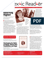 The Dyslexic Reader 2013 - Issue 63