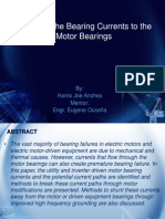 Effect of the Bearing Currents to the Motor