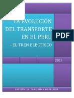 LA EVOLUCIÓN DEL TRANSPORTE EN EL PERU