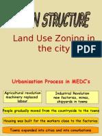 Urban Structure - Zonal Characteristics