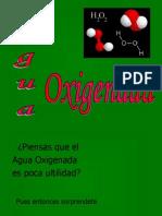 Agua Oxigenada. (1)