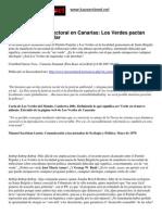 Los Verdes Europeos Pactos Y Política Conservadora Formación Comunista Pce Pca Jca