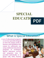 Special Education Awareness for the New Teachers