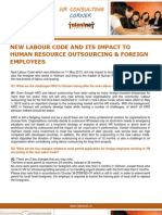 Vietnam New Labour Code and Its Impact to HR Outsourcing & Foreign Employees - Update June 2013 by Talentnet Corporation