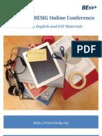 1st IATEFL BESIG Online Conference 2013 Programme