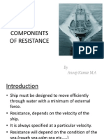 PPT:-Components of Ship Resistance