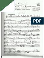 Carl Maria von Weber - Concierto en Fa menor Op. 73 Alta resolución