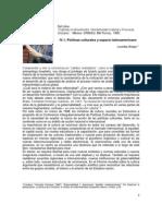 Lourdes Arizpe-Políticas culturales y espacio latinoamericano.docx