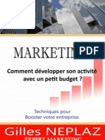 eBook Marketing Comment Developper Son Activit Avec Un Petit Budget