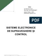 Sisteme Electronice Pentru Supraveghere Si Control
