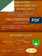 Sectorizacion de Conchitas