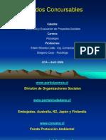 Fondos concursables 2009