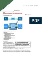 Java Architecture for XML