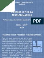 SEMANA 6 PRIMERA LEY DE LA TERMODINAMICA Cp ALIMENTOS ULCB SEMANA 6.pptx