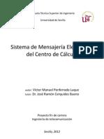 Sistema de Mensajería Electrónica del Centro de Cálculo