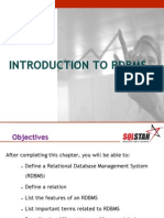 Chapter2 - Intro to Rdbms