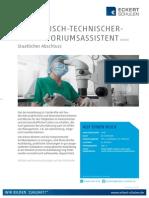 Datenblatt Medizinisch-technischer Laboratoriumsassistent