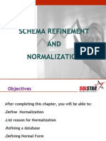 Chapter4 - Schema Refinement and Normalisation