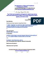 Risk Management Presentation August 20 2012