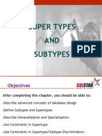 Chapter5 - Supertypes and Subtypes