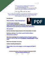 Risk Management Presentation December 10 2012