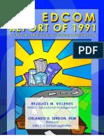 EDCOM Report by RM Villenes (Proj in EdM514)