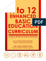 K to 12 Enhanced Basic Ed by MI Villenes (Proj in EdM514)