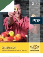 Culinarisch - Das Magazin 2013