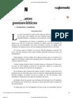 La Jornada_ Apuntes postsoviéticos