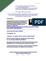 Risk Management Presentation Monday February 4 2013
